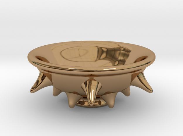 Spike Guinomi (03) in Polished Brass