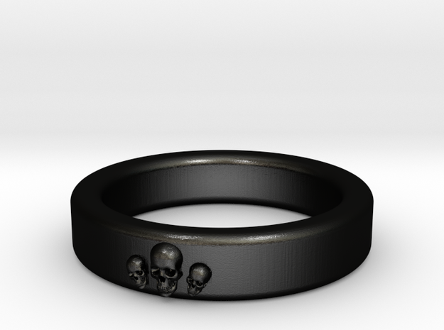 Smooth Anatomical Skull Ring