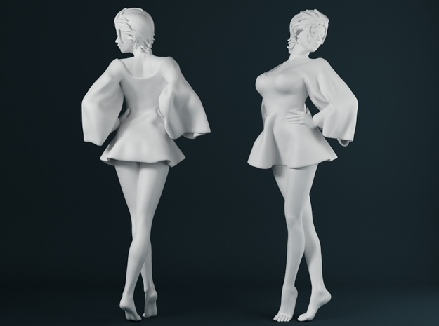 Skirt Girl-002 scale 1/24