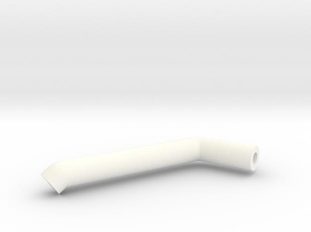 Zunhammer Tube 1 1:32 in White Processed Versatile Plastic