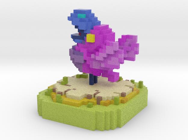 Faraway Song Bird in Full Color Sandstone