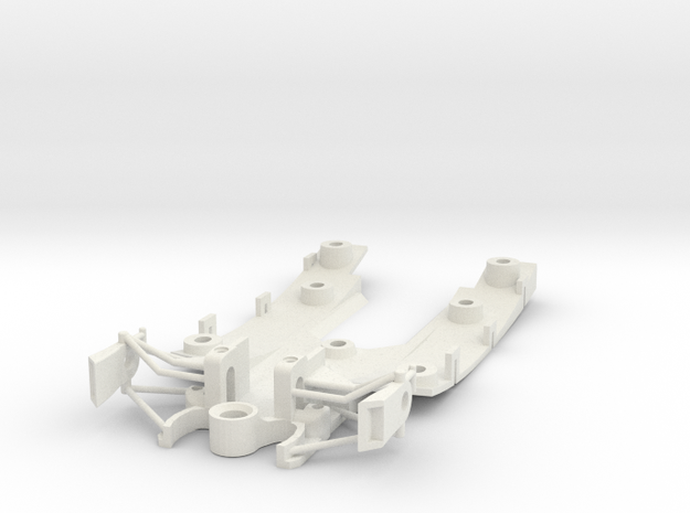 312 T4 Chassis in White Natural Versatile Plastic