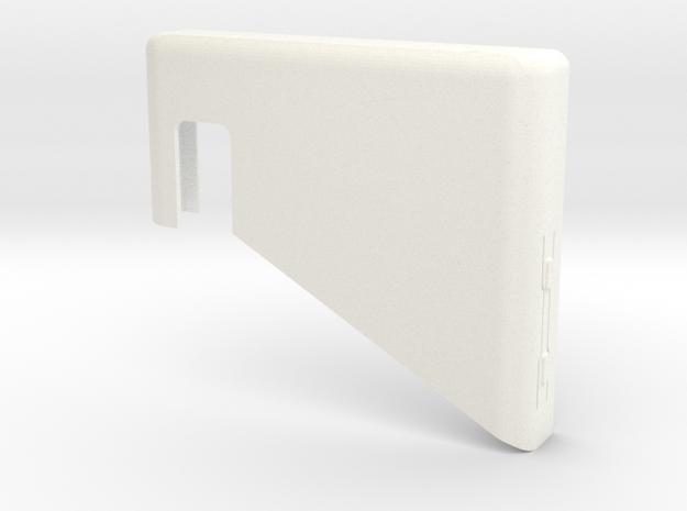 Fairphone Casing Top in White Processed Versatile Plastic