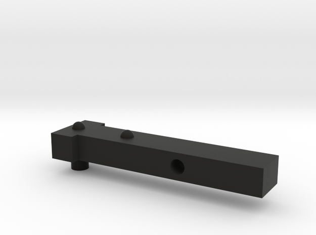 E-11 EndClip in Black Natural Versatile Plastic