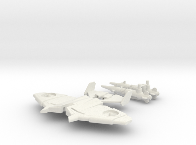 Generations Legends-class Thrust DIY Kit in White Natural Versatile Plastic