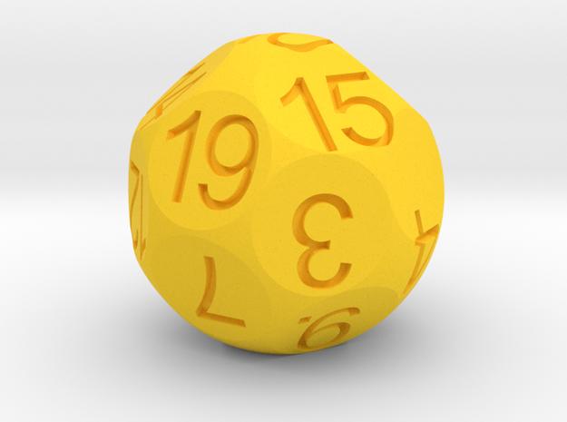 D19 Sphere Dice 3d printed