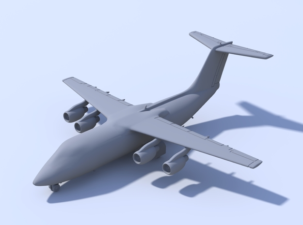 1:400 - BAE146-200 in Frosted Ultra Detail
