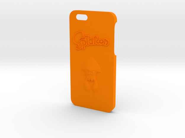 Iphone 6/6s Splatoon in Orange Processed Versatile Plastic