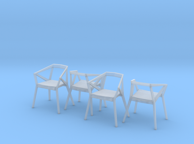 1:48 YY Chair Set in Frosted Ultra Detail