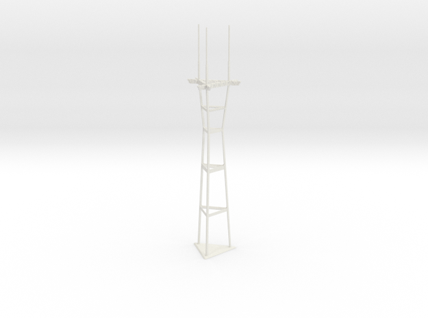 "12"" Sutro Tower 3d printed"