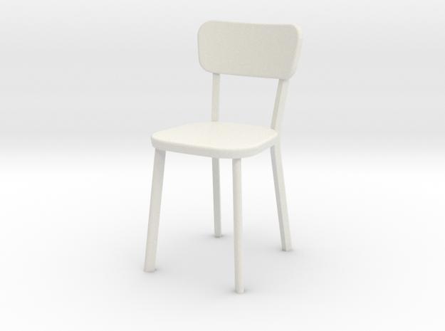 1:24 Deja-vu Chair in White Natural Versatile Plastic