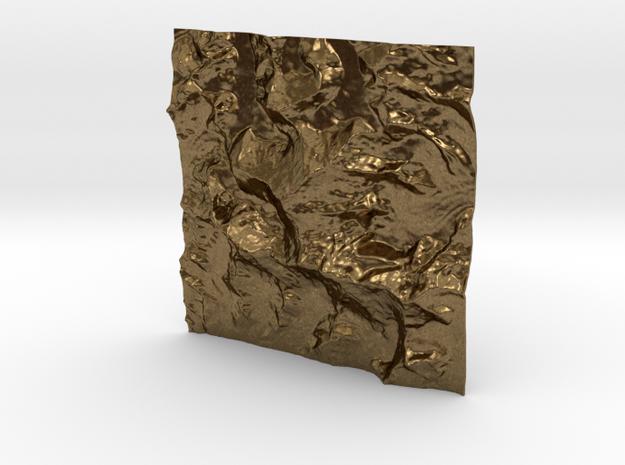 3''/7.5cm Mt. Everest, China/Tibet, WSF 3d printed