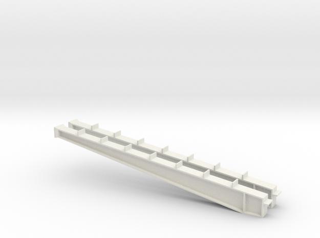 1/64 80' I-beam Cross Span in White Natural Versatile Plastic