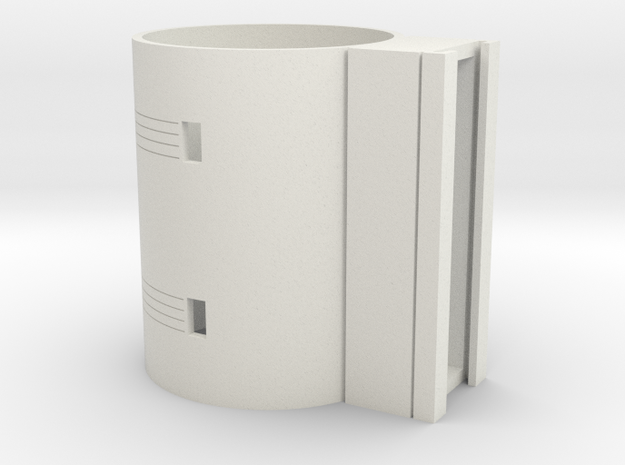 MHS compatible Lightsaber activation box in White Natural Versatile Plastic
