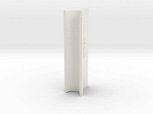 OD Sander V2, .25mm, 50mm Length in White Natural Versatile Plastic