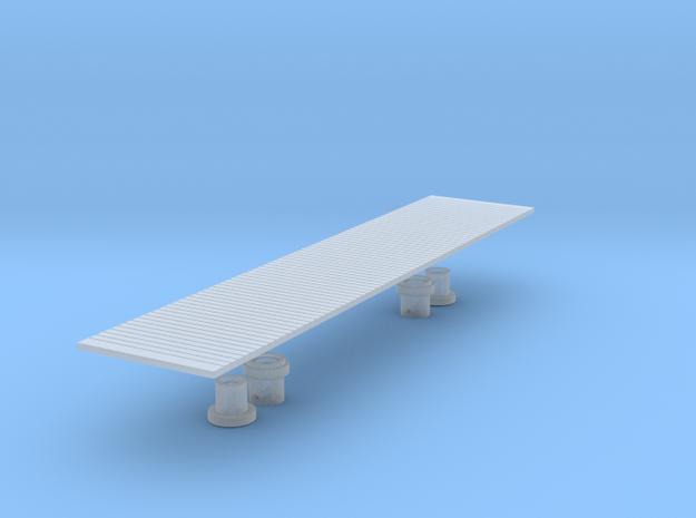 Warflat Floor (plain).  in Smoothest Fine Detail Plastic