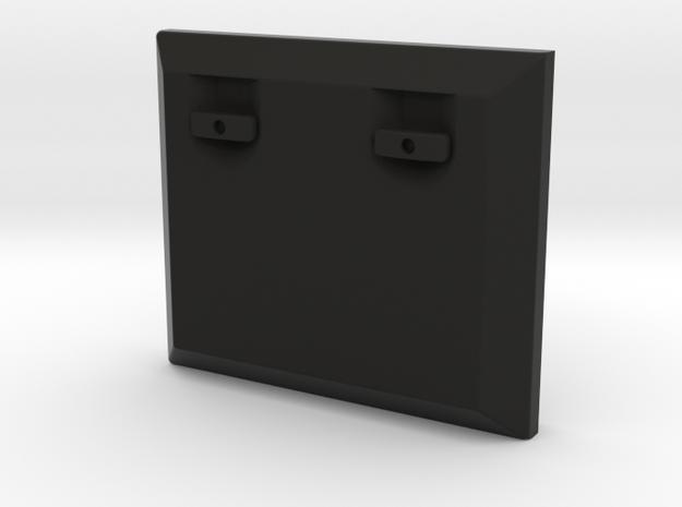 Porte Petit Caisson 35x30 in Black Natural Versatile Plastic