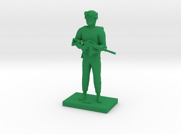 Lieutenant Lee in Green Processed Versatile Plastic