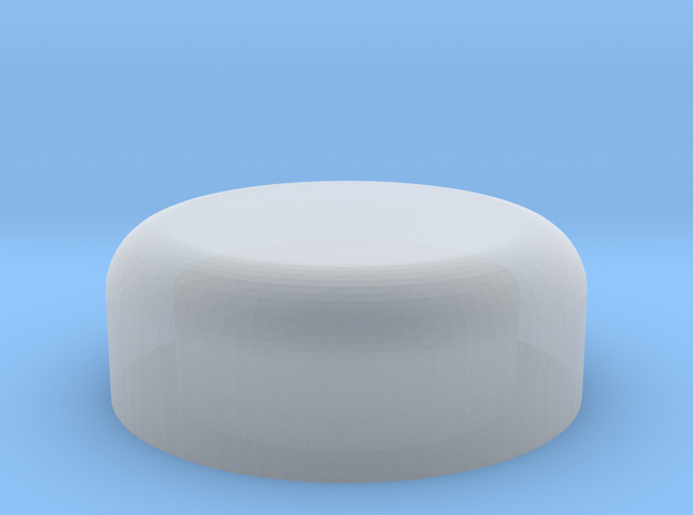 HO Tank Cap 02 in Smooth Fine Detail Plastic