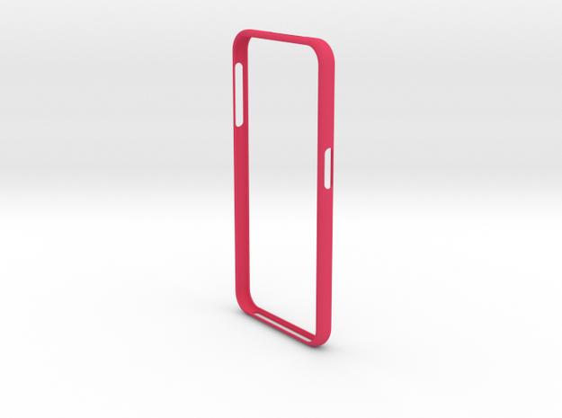 Galaxy S 6 Bumper Samsung in Pink Processed Versatile Plastic