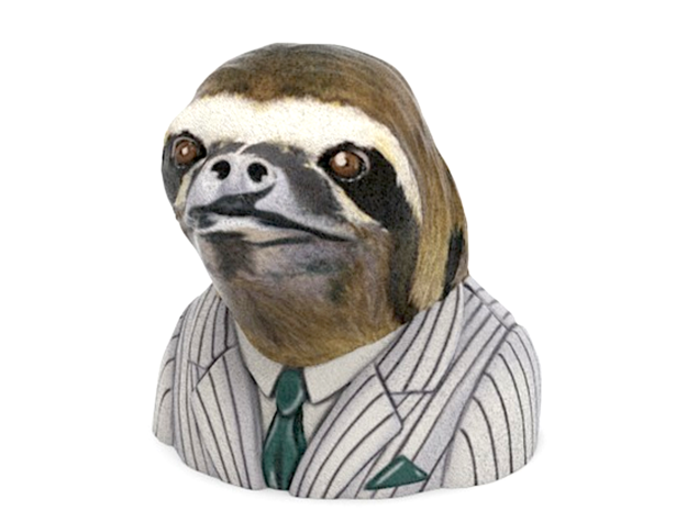 Dolla Dolla Bill Ya'll Sloth