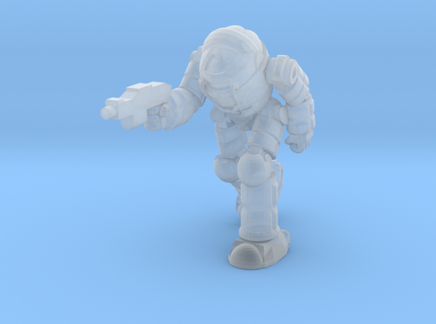 Ogre Pose 4 (Free Download) in Smooth Fine Detail Plastic