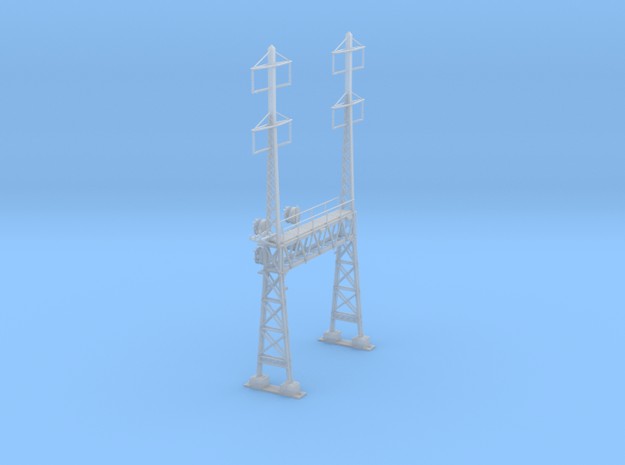 CATENARY PRR LATTICE SIG 2 TRACK 2-2PHASE N SCALE  in Frosted Ultra Detail