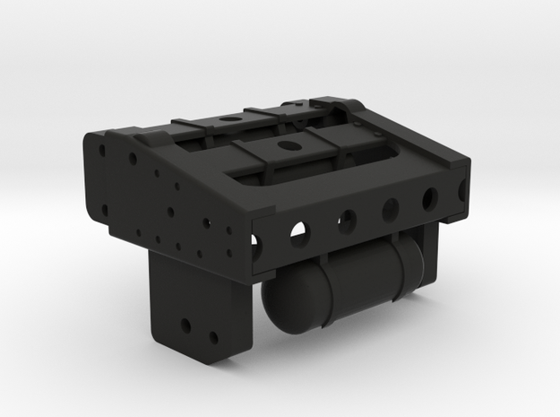 Chassis Arr Tamiya compatible 1/14 in Black Natural Versatile Plastic