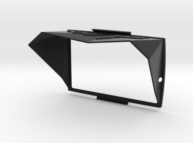 Sunshade II for BMW Navigator 5 in Black Natural Versatile Plastic