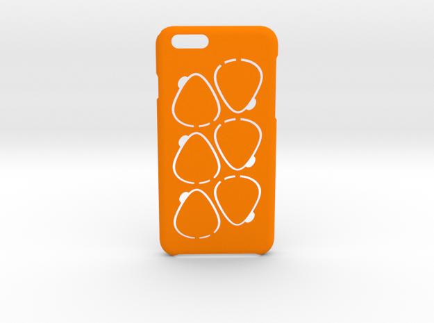 GPick iPhone 6 6s case in Orange Processed Versatile Plastic