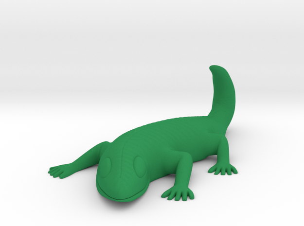 LARRY lizard hook in Green Processed Versatile Plastic