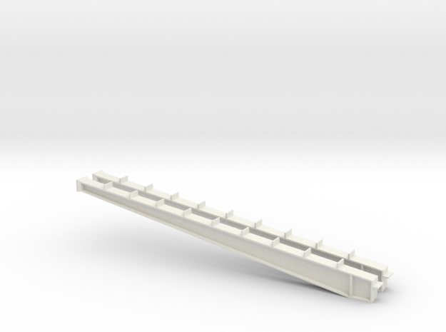 1/64 100' I-beam Cross Span in White Natural Versatile Plastic