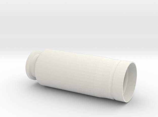 """30x90mm Casing, """"Type B"""" Style   in White Strong & Flexible"""