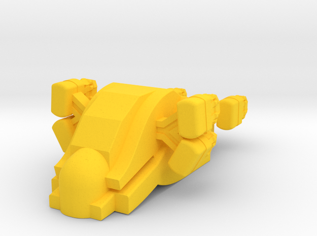 Santana in Yellow Processed Versatile Plastic