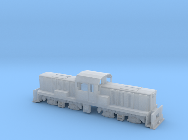 KIWIRAIL DSC NZ120  in Smooth Fine Detail Plastic