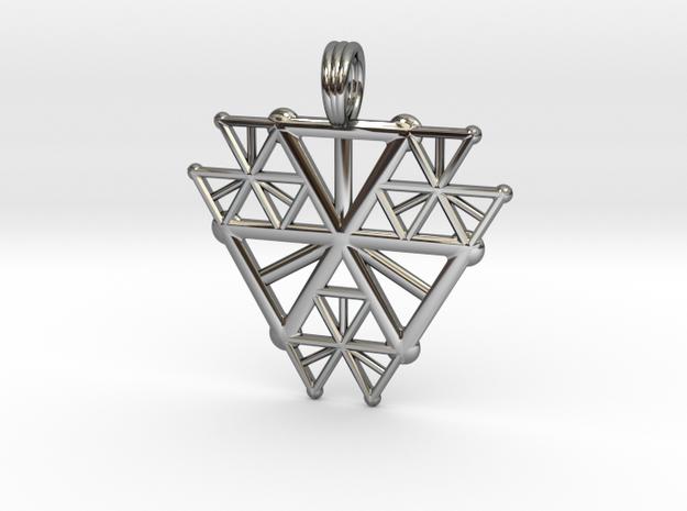 FRACTAL STARBREAK in Premium Silver