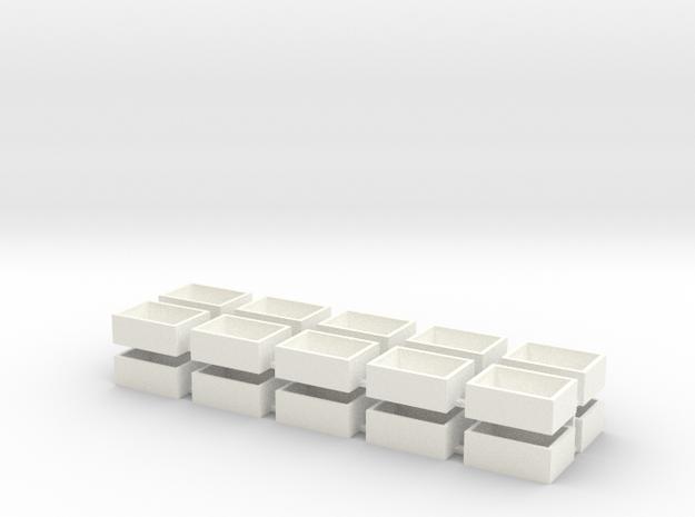 20 Pack Speaker Box Closed - 18mm x 13mm x 7mm