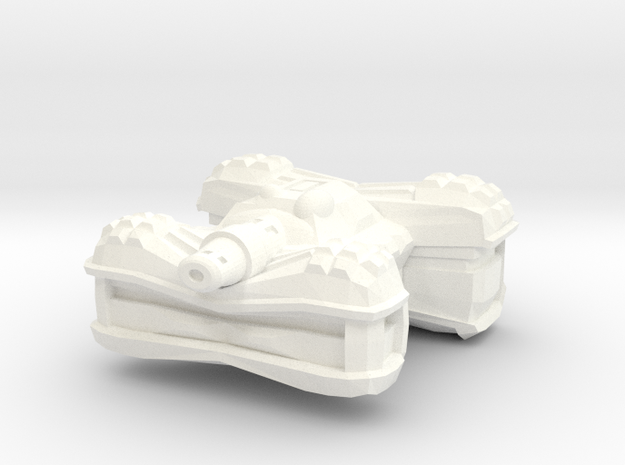 Cusaltreen Alien Tank in White Processed Versatile Plastic