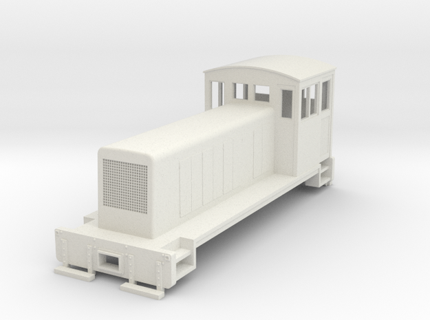HOn30 Switcher conversion body in White Strong & Flexible