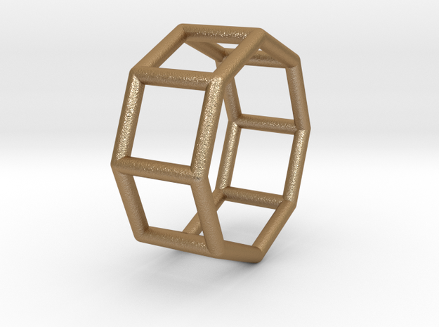 0433 Octagonal Prism (a=1cm) #001