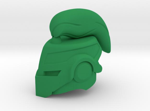Iron Companion Helm in Green Processed Versatile Plastic