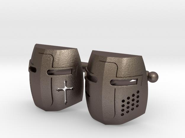 Knight Helmet Cufflinks