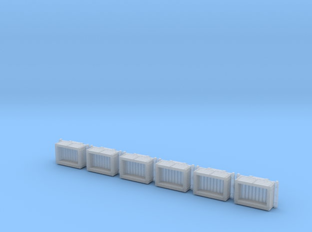 A-1-160-wdlr-a-class-open-fold-side-ends-wagon-x6 in Smooth Fine Detail Plastic