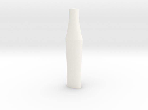 HT Zurich Bastard Grip 150mm in White Processed Versatile Plastic