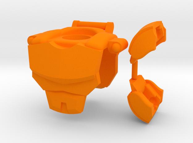 Iron Companion Chest Gear in Orange Processed Versatile Plastic