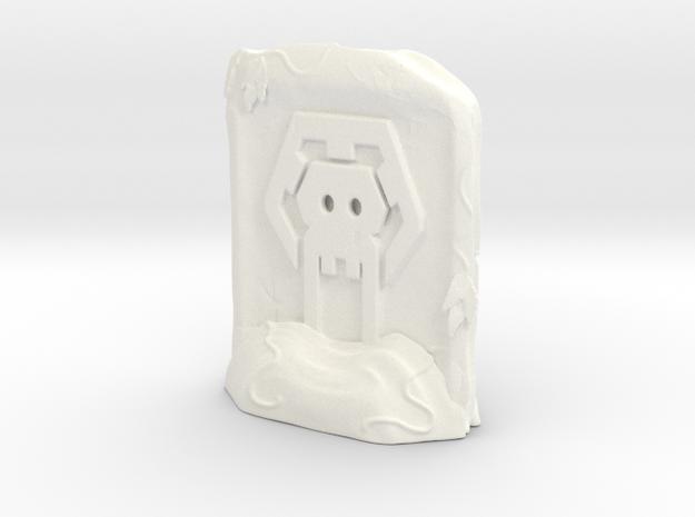He-robasegrave in White Processed Versatile Plastic