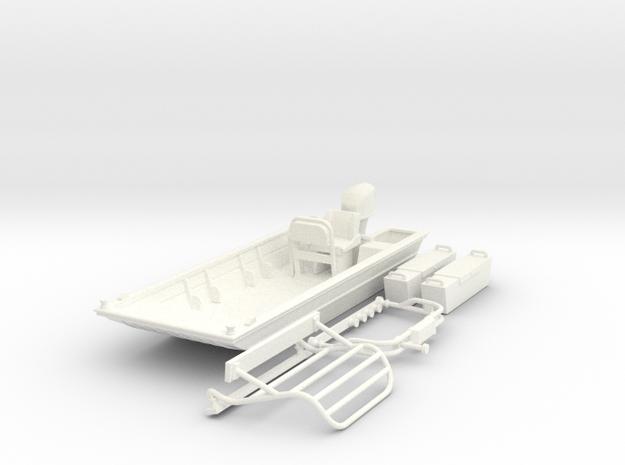 Flat Bottom Boat 01.  1:64 Scale