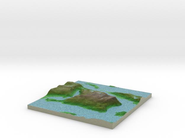 Terrafab generated model Wed Feb 03 2016 10:31:18  in Full Color Sandstone