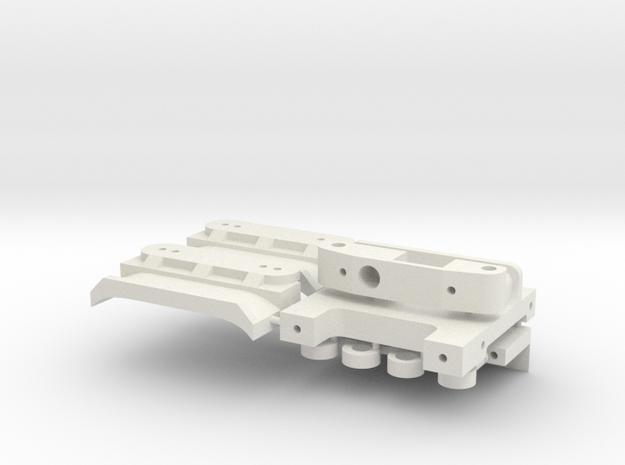 Kyosho OT-98 in White Natural Versatile Plastic