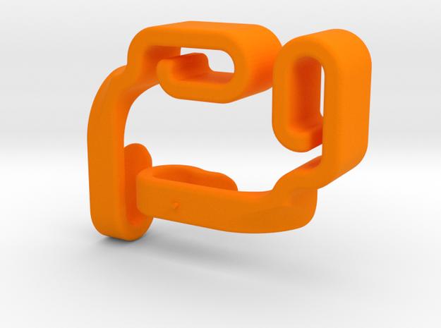 Bag Hooks in Orange Processed Versatile Plastic